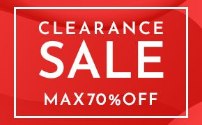 CLEARANCE SALE MAX70%OFF